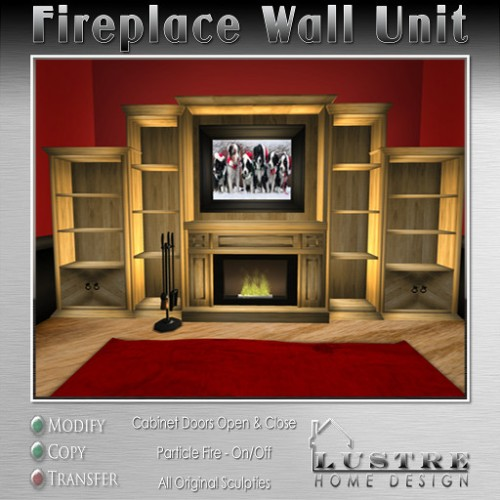 Fireplace-Wall Unit2