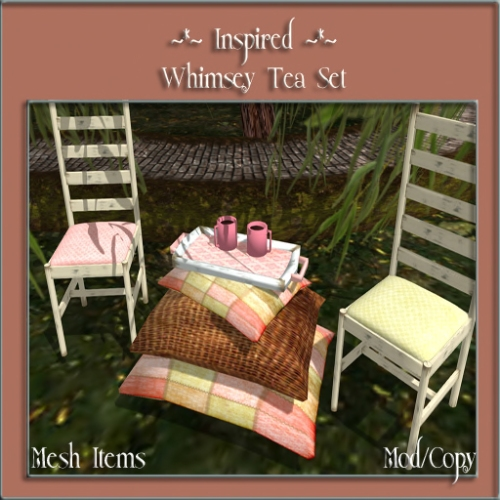 ~_~ Inspired ~_~ Whimsey Tea Set for Fab4
