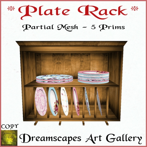 _Plate Rack_ - Dreamscapes Art Gallery